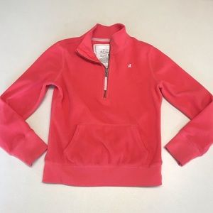 Old Navy Coral 1/4 Zip Fleece-Size Large